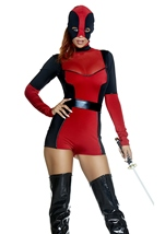 Adult Merciless Assassin Woman Costume