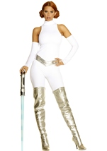 Adult Galaxy Goddess  Movie Character Costume