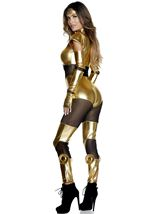 Adult Golden Movie Iron Hero Woman Costume