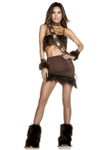 Co Pilot Movie Character Woman Costume