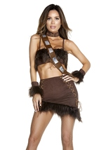 Adult Co Pilot Movie Character Woman Costume