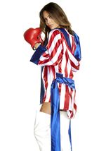 Adult Get Champ Boxer Woman Costume