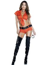 Lockdown Prisoner Woman Costume