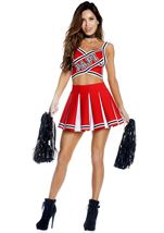 Papi Cheerleader Woman Costume