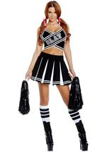 Cheerleader Woman Play Costume