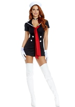 Sailor Woman Sail Costume