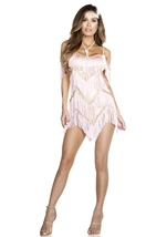 Flap Dance Flapper Woman Costume