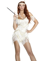 Adult Jazzed Up Flapper Woman Costume