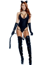 Untamed Woman Cat Costume