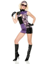 Adult Miss Groove 70s Women Disco Costume