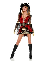 Seven Seas Pirate Woman Costume
