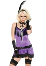 Adult Fantasy Flapper Woman Costume