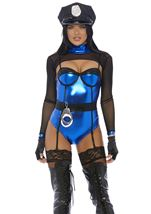 Adult Mean Business Cop Woman Costume