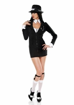 Mobster Mama Gangster Women Costume