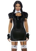 Adult Woman Crush Wednesday Movie Character Woman Costume