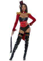 Ring Leader Circus Woman Costume