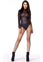 Behave Perforated Bodysuit