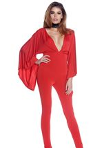 Sent From Heaven Women Jumpsuit Red