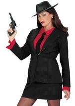 Gangster Women Costume