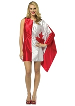 Canada Flag Women Halloween Costume