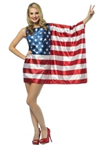 USA Flag Dress Women