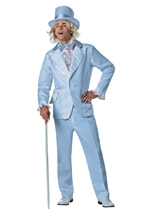 Dumb And Dumber Harry Blue Tuxedo Mens Costume