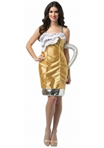 Beer Mug Womens Dress Costume by Rasta Imposta