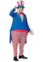 Uncle Sam Hooster Adult Costume