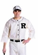 Old Time Baseball Player Men Halloween Costume