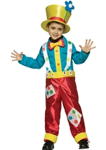 Clown Boy Kids Costume
