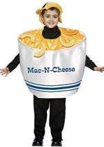 Mac & Cheese Kids Costume