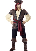 Rustic Pirate Deluxe Men Costume