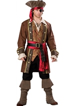 Captain Skullduggery Men Pirate Costume