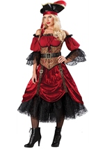 Swashbucklin Scarlet Woman Pirate Costume