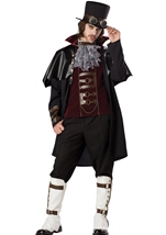 Men Steampunk Victorian Vampire Costume