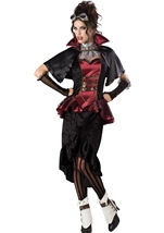 Steampunk Vampiress Women Deluxe Costume
