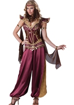 Desert Jewel Arabian Women Halloween Costume