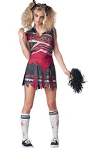 Spiritless Zombie Cheerleader Women Costume