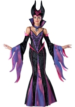 Dark Sorceress Woman Evil Costume