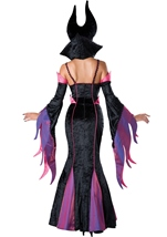 Dark Sorceress Woman Evil Halloween Costume