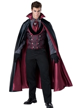 Midnight Count Deluxe Men Vampire Costume