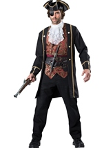 Pirate Captain Men Costume