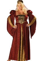 Renaissance Maiden Womens Plus Costume
