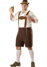 Bavarian Guy Mens Plus Costume