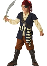 Deluxe Pirate Mate Boys Costume