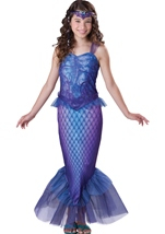 Mysterious Mermaid Girl Deluxe Costume