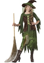 Wild Woods Witch Girls Costume
