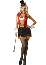 Three Ring Hottie Elite Collection Women Ring Master Costume