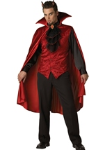 Dashing Devil Men Costume