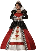 Plus Queen Of Hearts Deluxe Costume